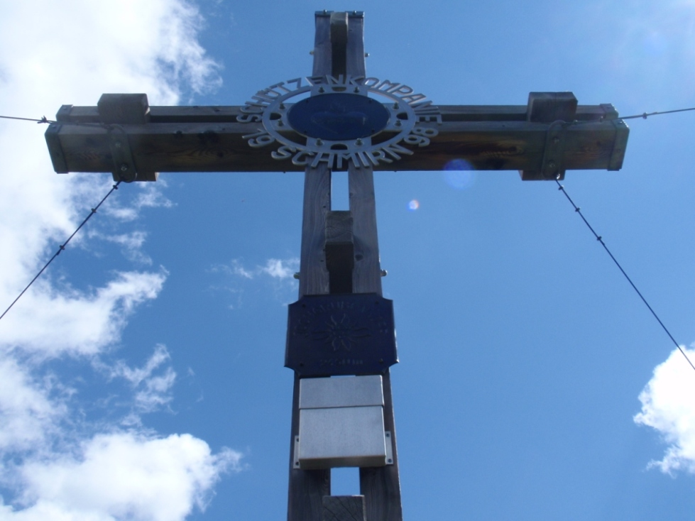 Gipfelkrez Jochgrubenkopf