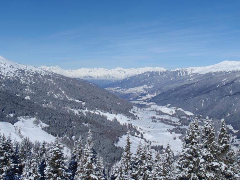 Sattelberg -  Richtung Innsbruck