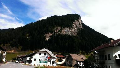Blick von Stafflach Richtung Wand