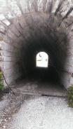 Tunnel beim Zistieg