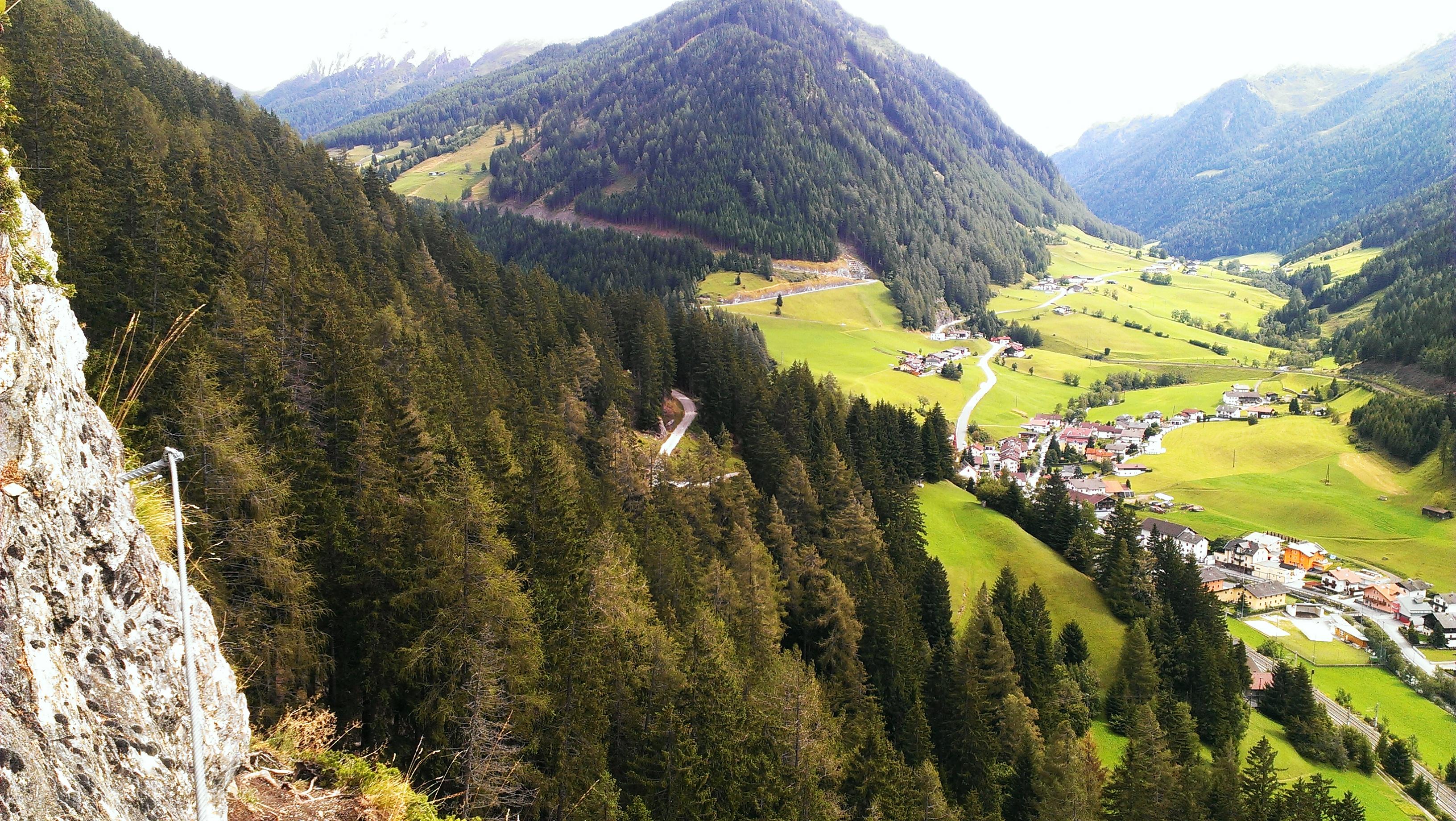 St Jodok Klettersteig : Camino para recorrer a pie vals klettersteig st jodok s