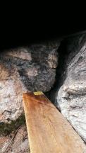 Sumserbankl in der Wand