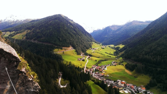 Blick ins Valsertal