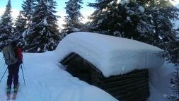 Ordendliche Schneemengen...