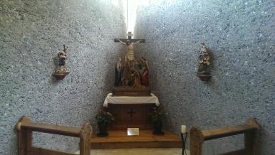 Kapelle am Eingang des Padastertales