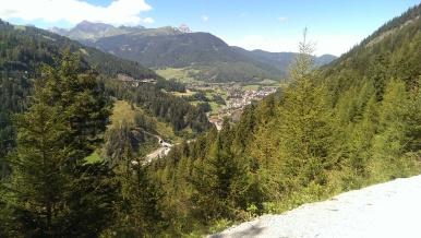 Blick auf Steinach am Brenner