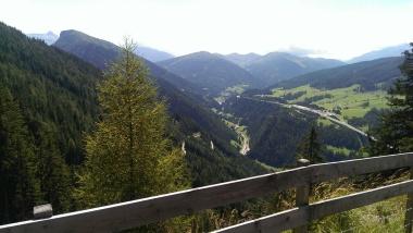 Blick Richtung Sattelberg