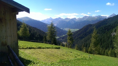 Blick Richtung Gschnitztal