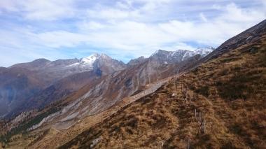 Bilck in die Zillertaler Alpen