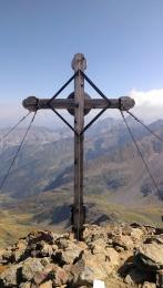 Gipfelkreuz Innere Wetterspitze