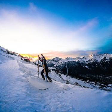 Skitour Bergeralm