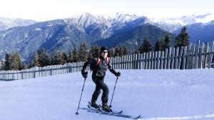 Skitour Bergeralm mit Roman