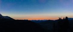 Sonnenuntergang Bergeralm