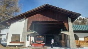 Hühnerspielhütte