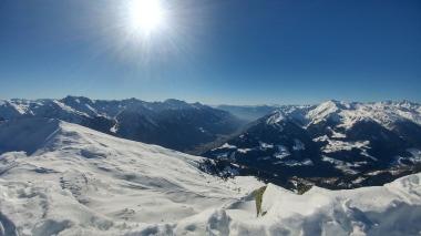 Blick ins Südtiroler Wipptal