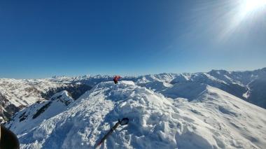Blick Richtung Zillertaler Alpen